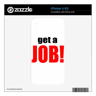 WIFE BLAMING blame lazy husband work going job get Decals For iPhone 4S