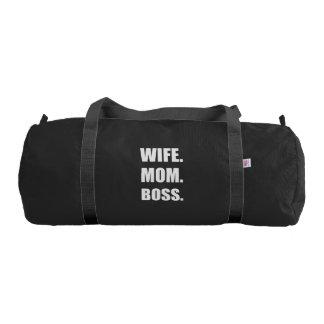 Wife Boss Mom Duffle Bag