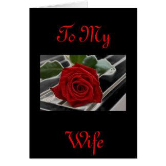 WIFE CARD