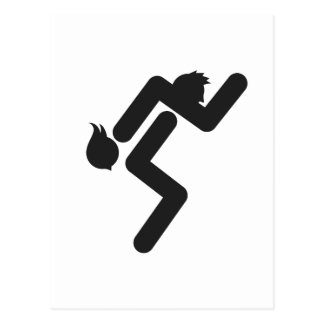 Wife Carrying 2 Postcard