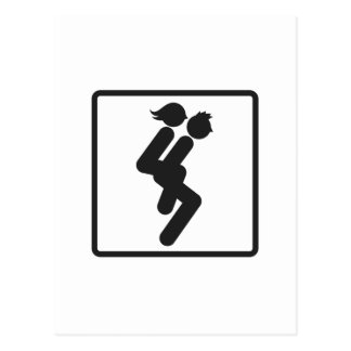 Wife Carrying 3 Postcard