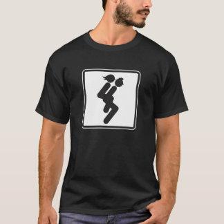 Wife Carrying 3 Survivor Back Drk T-Shirt Template