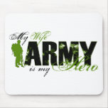 Wife Combat Boots Army Mousepads