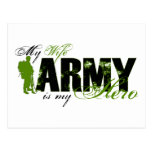 Wife Combat Boots Army Postcards