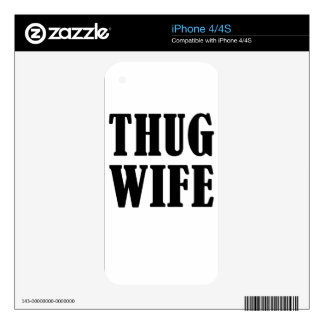 wife decals for the iPhone 4S