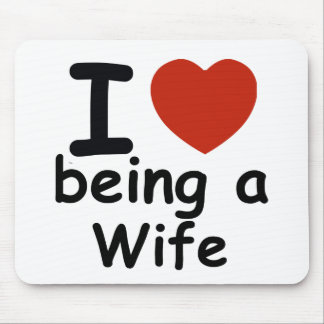 wife design mouse pad