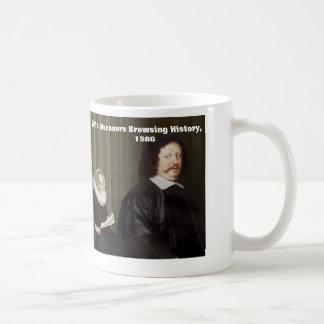 Wife Discovers Browsing History, 1586 Coffee Mug