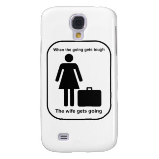 wife_gets_going_Black Samsung Galaxy S4 Case