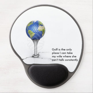 Wife Golf Mouse Pad Gel Mouse Pad