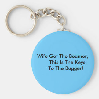 Wife Got The Beamer,       This Is The Keys,   ... Keychain