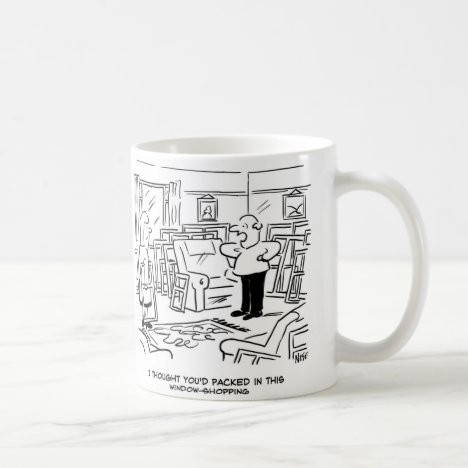 Wife has been window-shopping again! coffee mug