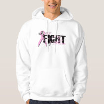 Wife Hero - Fight Breast Cancer Hoodie