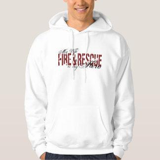 Wife Hero - Fire & Rescue Hoodie