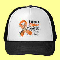 Wife Hero in My Life Leukemia Trucker Hat