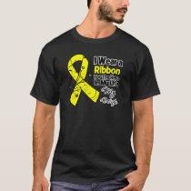 Wife Hero in My Life Sarcoma Awareness T-Shirt