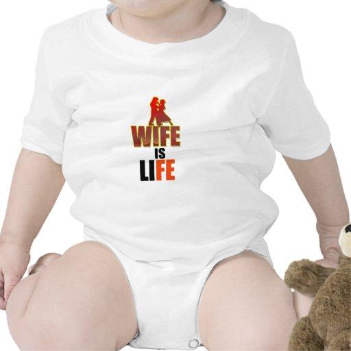 wife-is-life-_- .png (blanco) trajes de bebé