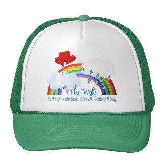 Wife Is My Rainbow Trucker Hat