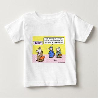 wife keynesian congress fiscal conservative baby T-Shirt