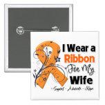 Wife - Leukemia Ribbon Pin