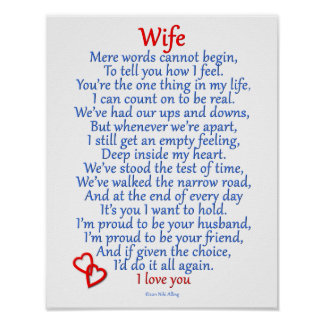 Wife Love Poster