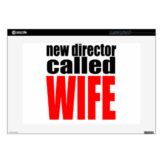 wife marriage joke director newlywed reality quote laptop skins
