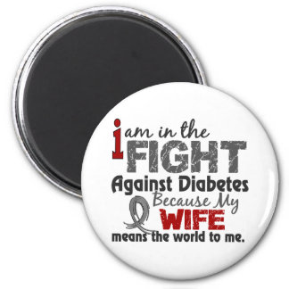 Wife Means World To Me Diabetes Magnet