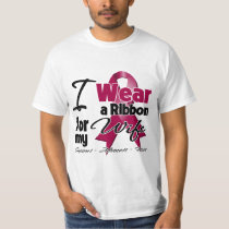 Wife - Multiple Myeloma Ribbon T-Shirt
