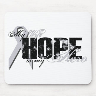 Wife My Hero - Lung Hope Mouse Pad