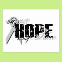 Wife My Hero - Lung Hope Postcard