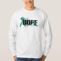 Wife My Hero - Ovarian Hope T-Shirt