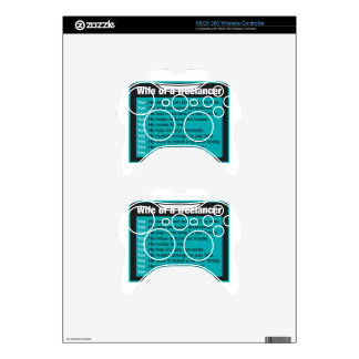 Wife Of A Freelancer Xbox 360 Controller Decal