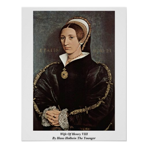 Wife Of Henry Viii By Hans Holbein The Younger Print