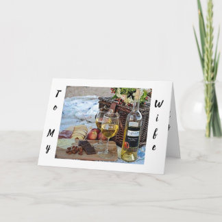 **WIFE** ON **MOTHER'S DAY** LOVE YOU CARD