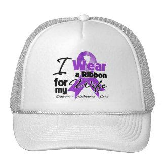 Wife - Pancreatic Cancer Ribbon Hats