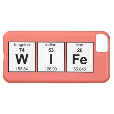 WIFe Periodic Table Case For iPhone 5C