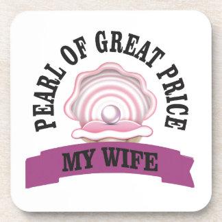 wife pgp yeah beverage coaster