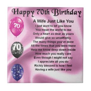 70 Jaar Verjaardag Gedicht.Verjaardagswensen Vrouw 70 Jaar Wishlist Buddy