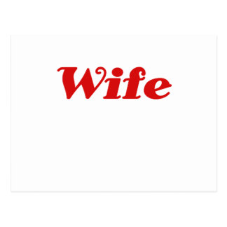 Wife Postcard