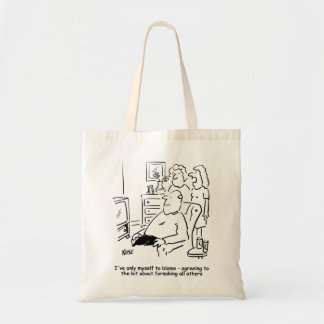 Wife regrets her wedding vows tote bag