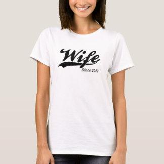 Wife Since 2012 T-Shirt