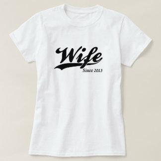 Wife Since 2013 Tee Shirt