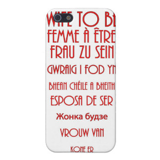 Wife To Be iPhone SE/5/5s Case