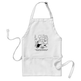 Wife wishes her husband was her dream man adult apron