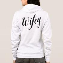 Wifey Black Script Sweatshirt