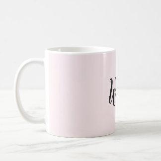 Wifey heart coffee mug