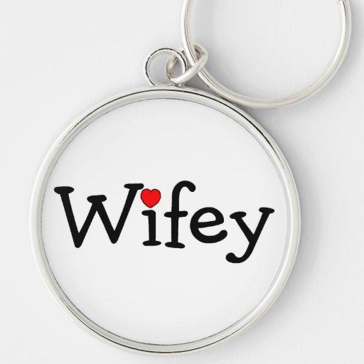 Wifey Key Chain