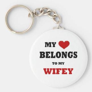 Wifey Keychain