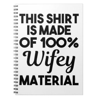 Wifey Material Notebook