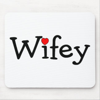 Wifey Mouse Pad