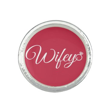 Bride Themed Wifey ring